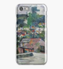 Paul Cezanne - Landscape 1888 - 1890 iPhone Case/Skin