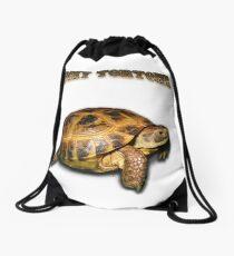 Lucky Tortoise Drawstring Bag