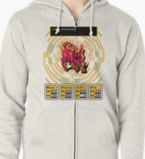 Earthbound - Carbon Dog Zipped Hoodie