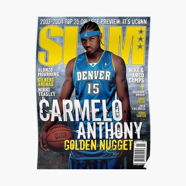 carmelo anthony | cover slam magazine Poster