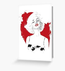 Marilyn Test Greeting Card