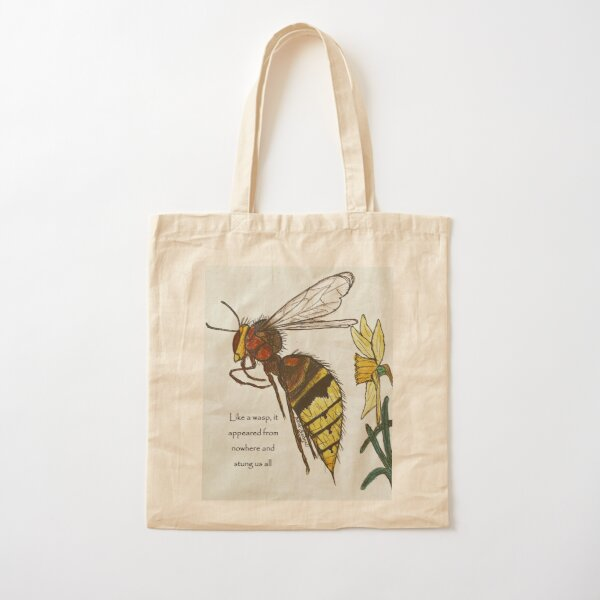Wasp sting Cotton Tote Bag