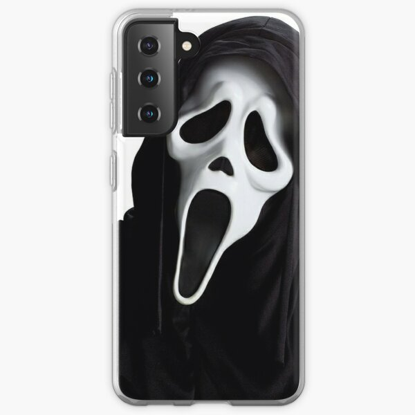 Cri d'horreur ghostface Coque souple Samsung Galaxy