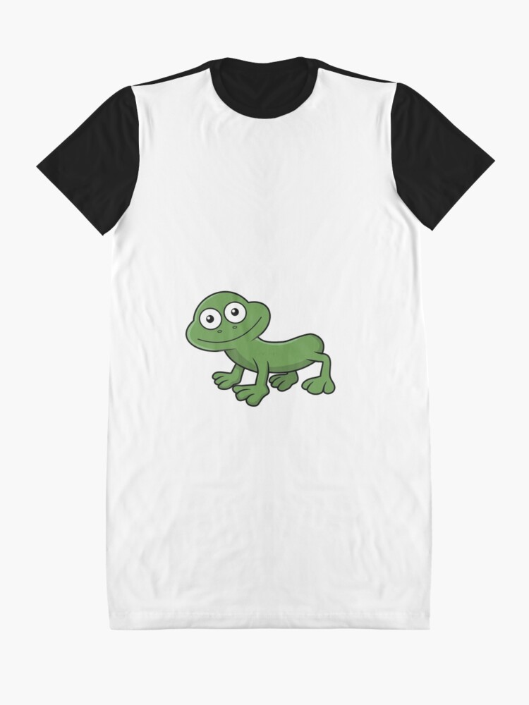 Alternate view of Sausage Frog Graphic T-Shirt Dress