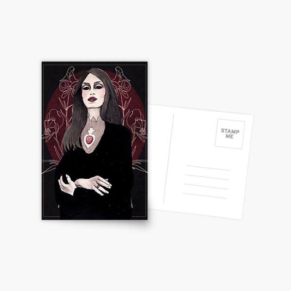 Monkshood under a Bloodmoon Postcard