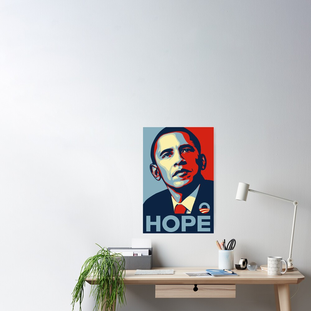 Barack Obama Hope Poster Art Poster