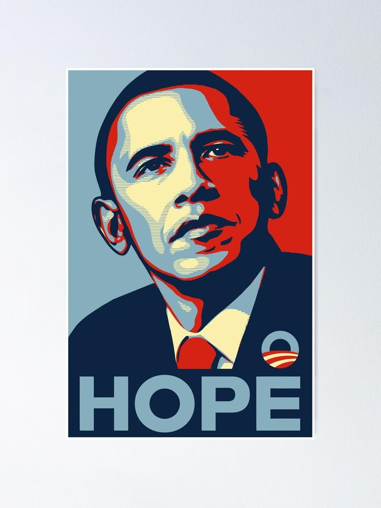 Alternate view of Barack Obama Hope Poster Art Poster