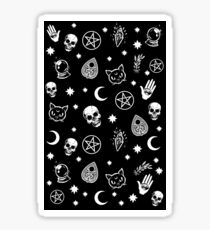 Witch Pattern Sticker