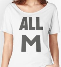 Camiseta ancha para mujer Deku's All M Shirt