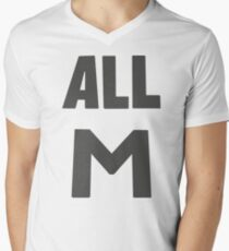 Deku's All M Shirt Men's V-Neck T-Shirt