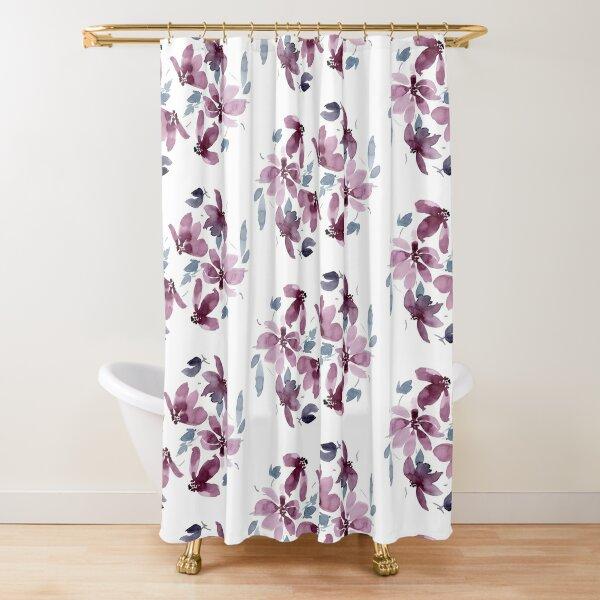 Daphne (Pink Palette) Shower Curtain