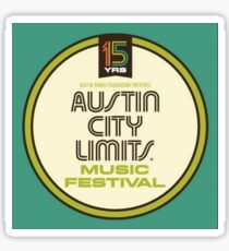 Austin City Limits 2016 15th Anniversary Sticker