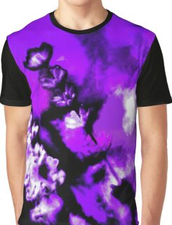 Lavender Blurred Blossoms Graphic T-Shirt