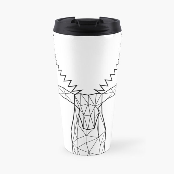 Wired  Faceted Antelope Travel Mug