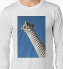 Classical Corinthian Column - Ancient Pompeii Graceful Beauty Left T-Shirt