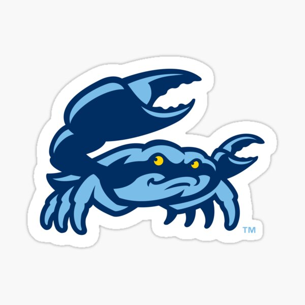 Charlotte Stone Crabs Sticker