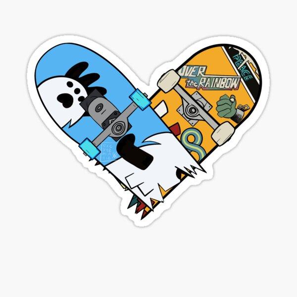 Langa/Reki Heart  Sticker