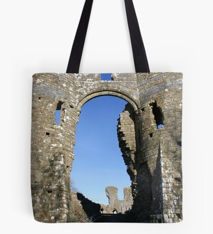Castles of Wales, Welsh Castle, Ruins Tote Bag