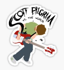 Scott Pilgrim vs the world Sticker