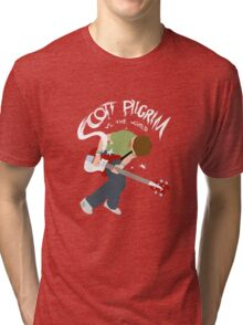 Scott Pilgrim vs the world Tri-blend T-Shirt