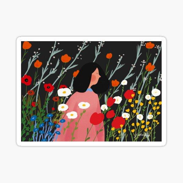 flowers Sticker