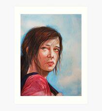 Ellie (The Last of Us) Art Print