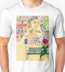 Oh Dear, Where's My Bus Fare Unisex T-Shirt