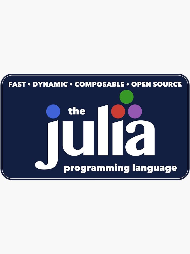 The Julia Programming Language Logo by JuliaLanguage