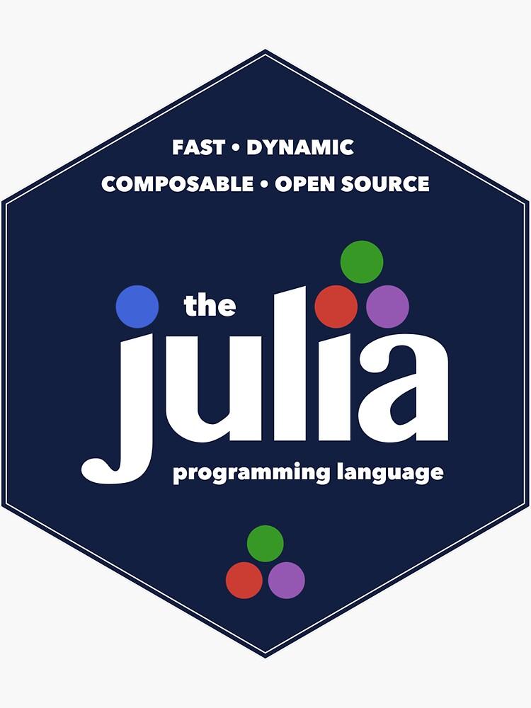 The Julia Programming Language Hex Logo by JuliaLanguage