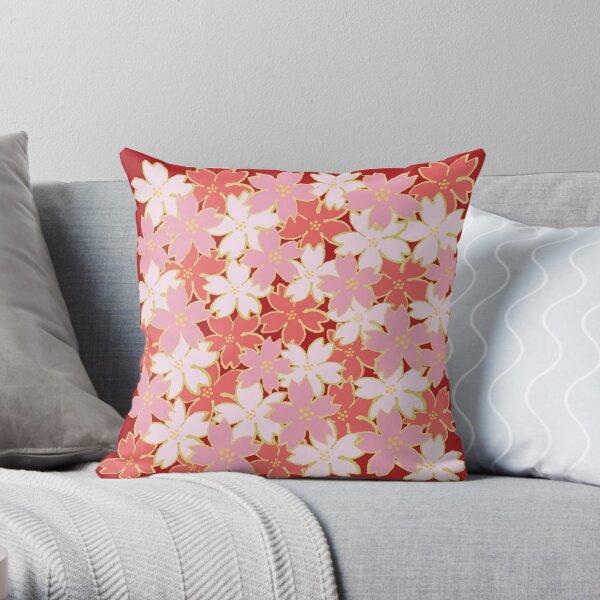 sakura Throw Pillow