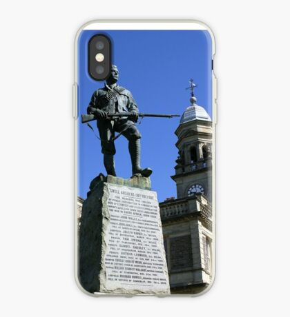 English Colonial War Memorial, South African Wars 1900 iPhone Case