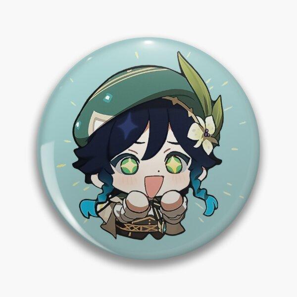 "Venti   Genshin Impact Sticker ""Excited"" Pin"