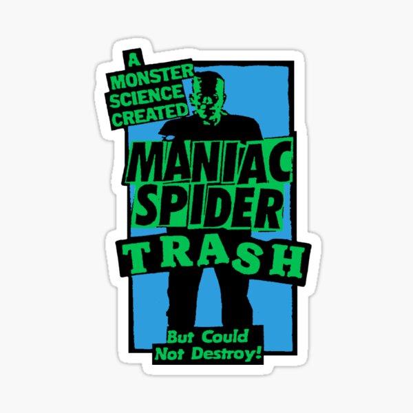 Maniac Spider Trash: Freakenstein Graphic Sticker