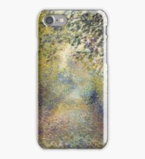 Auguste Renoir - In the Woods  1880 Impressionism  Landscape iPhone Case/Skin
