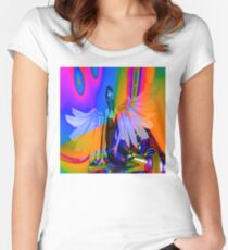 Flying Dream Women's Fitted Scoop T-Shirt