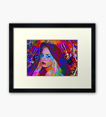 Lost in the Music Framed Print