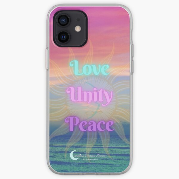 Live with Love, Unity and Peace iPhone Soft Case