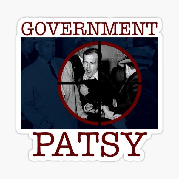 Government Patsy Sticker