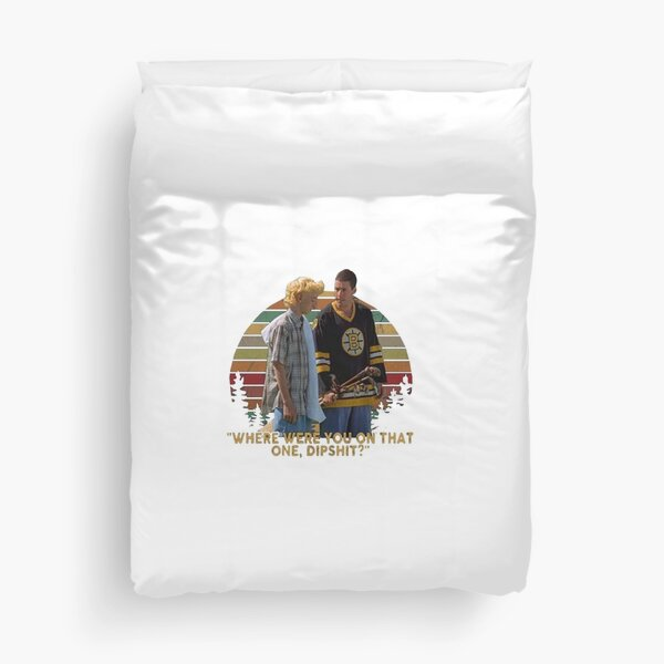 Happy Gilmore Where Were You On That One Dipshit Vintage T Shirt Duvet Cover