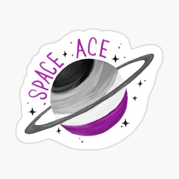 SPACE ACE SATURN Sticker