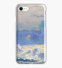 Claude Monet - Waterloo Bridge, Impressionism iPhone Case/Skin