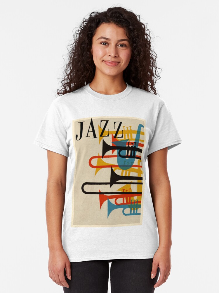 Alternative Ansicht von Jazz Classic T-Shirt