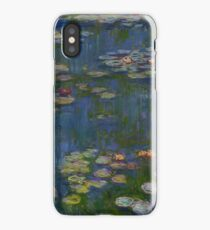 Claude Monet - Water Lilies (1916)  Impressionism iPhone Case/Skin