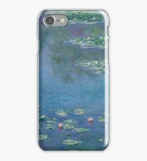 Claude Monet - Water Lilies (1906)  Impressionism iPhone Case/Skin