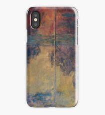 Claude Monet - The Water Lily Pond , Impressionism iPhone Case