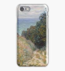 Claude Monet - Road at La Cavée  Pourville  iPhone Case/Skin