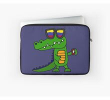 """""""Funny Cool Alligator with Mobile Phone and Sunglasses"""" by ...   220 x 200 jpeg 5kB"""