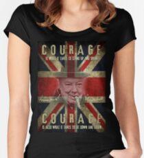 churchill Women's Fitted Scoop T-Shirt