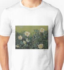 Vincent Van Gogh - Wild roses, Famous Painting. Impressionism. Van Gogh T-Shirt