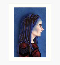 Illyria Portrait Art Print